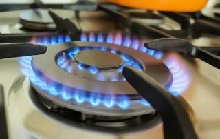 Natural Gas cooktop burner