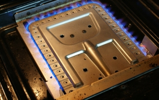 Westinghouse 476 gas wall oven burner