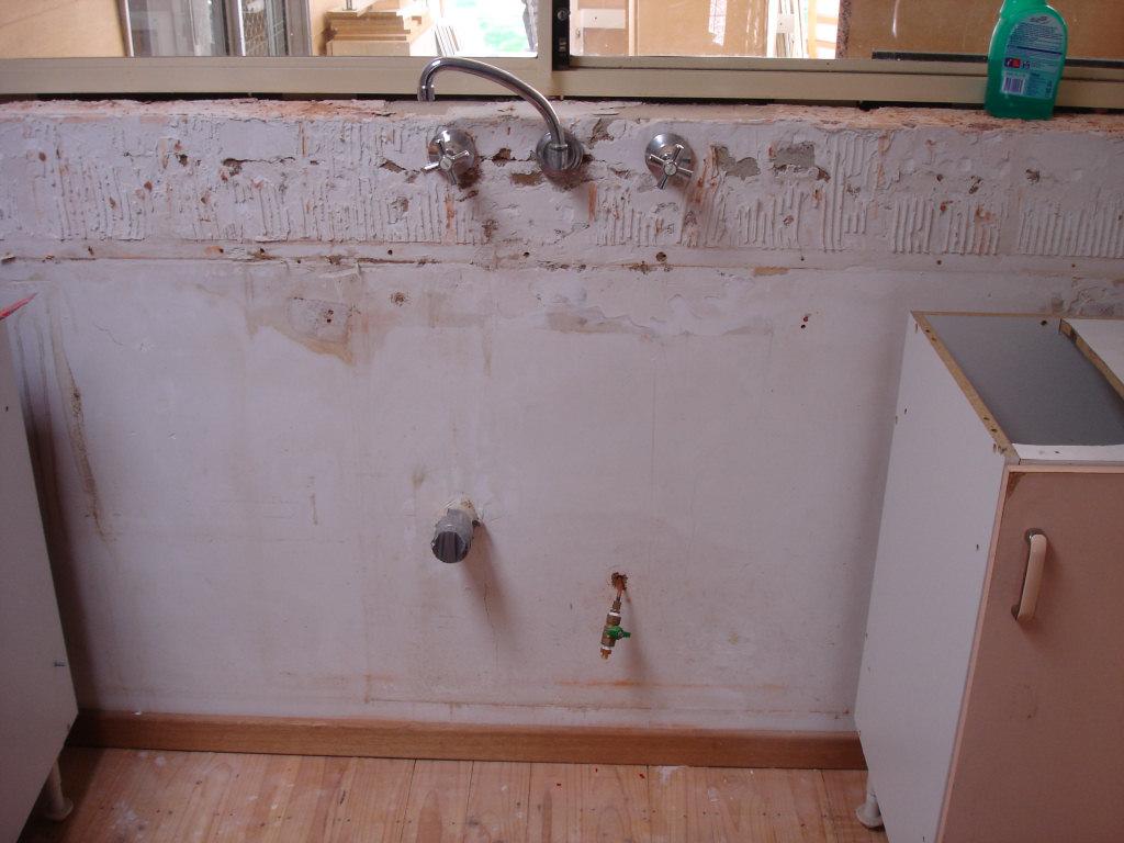 Plumbing a kitchen renovation